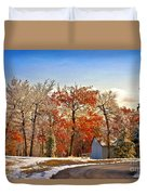 Change Of Seasons Duvet Cover by Lois Bryan