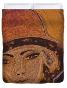 Chapeau By Jrr Duvet Cover by First Star Art