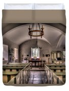 Chapel In Wales Duvet Cover by Adrian Evans