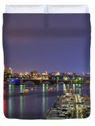 Charles River Country Club Duvet Cover by Joann Vitali