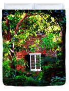 Charleston's Charm and Hidden Gems  Duvet Cover by Susanne Van Hulst