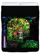Charleston's Charm And Hidden Gems  Duvet Cover by Susanne Van Hulst