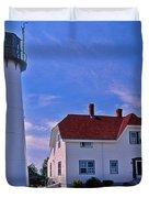 Chatham Light Duvet Cover by Skip Willits