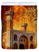 Chauburji Gate Duvet Cover by Catf