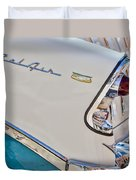 Chevrolet Bel-air Taillight Duvet Cover by Jill Reger