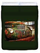 Chevy Truck Duvet Cover by Marty Koch