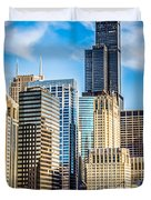 Chicago High Resolution Picture Duvet Cover by Paul Velgos
