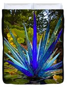 Chihuly Lily Pond Duvet Cover by Diana Powell