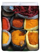 Chilli Powders 3 Duvet Cover by James Brunker