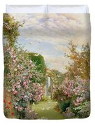 China Roses Duvet Cover by Alfred Parsons