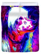 Chinese Crested Dog 20130125v1 Duvet Cover by Wingsdomain Art and Photography