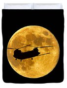 Chinook Moon Color Duvet Cover by Al Powell Photography USA