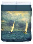 Chios Duvet Cover by Taylan Soyturk