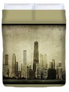 Chitown Duvet Cover by Andrew Paranavitana