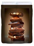 Chocolate Duvet Cover by Elena Elisseeva