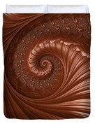 Chocolate  Duvet Cover by Heidi Smith