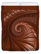 Chocolate  Duvet Cover by Heidi Smith
