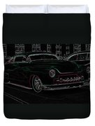Chopped Merc Glow Duvet Cover by Steve McKinzie