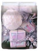 Christmas Decoration Duvet Cover by Kathleen Struckle