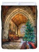 Christmas Tree Duvet Cover by Adrian Evans