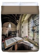 Church Chronicles Duvet Cover by Adrian Evans