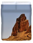 Church Rock Arizona - Stairway to Heaven Duvet Cover by Christine Till