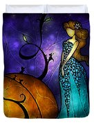 Cinderella Duvet Cover by Mandie Manzano