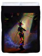 Cat O Nine Tails Duvet Cover by Kd Neeley