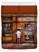 City - Baltimore Md - Explore The Land Of Beer  Duvet Cover by Mike Savad