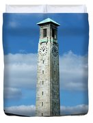 Civic Centre Southampton Duvet Cover by Terri  Waters