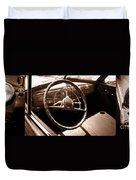 Classic Cars Duvet Cover by Edward Fielding