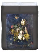 Classical Bouquet - S0104t Duvet Cover by Variance Collections