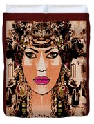 Cleopatra Duvet Cover by Natalie Holland