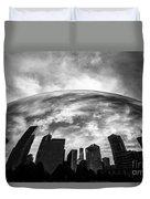 Cloud Gate Chicago Bean Duvet Cover by Paul Velgos
