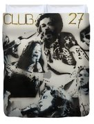 Club 27 Duvet Cover by Barry Boom