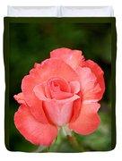 Cobra Rose  Duvet Cover by Christine Till