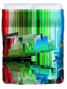 Cognitive Dissonance 3 Duvet Cover by Angelina Vick