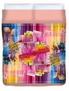 Cognitive Dissonance 4 Duvet Cover by Angelina Vick