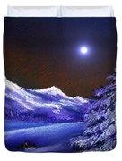 Cold Night Duvet Cover by Anastasiya Malakhova