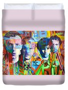 Coldplay Duvet Cover by Joshua Morton