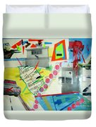Collage 444 Duvet Cover by Bruce Stanfield