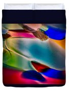Color Wall Duvet Cover by Omaste Witkowski