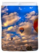 Colorado River Crossing 2012 Duvet Cover by Robert Bales
