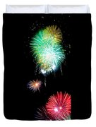 Colorful Explosions No3 Duvet Cover by Weston Westmoreland
