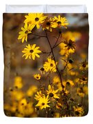 Colors Of Autumn Duvet Cover by Sabrina L Ryan