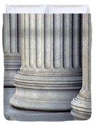 Columns Duvet Cover by Jon Neidert