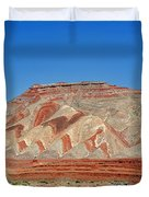 Comb Ridge Utah near Mexican Hat Duvet Cover by Christine Till