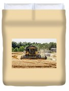 Combine Harvester Duvet Cover by Georgia Fowler