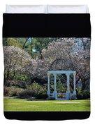 Come Into The Garden Duvet Cover by Cynthia Guinn