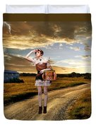 Coming Home Duvet Cover by Ester  Rogers